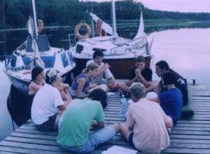 Szkolenie żeglarskie na Mazurach