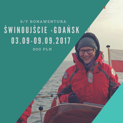 Rejs Świnoujście-Gdańsk