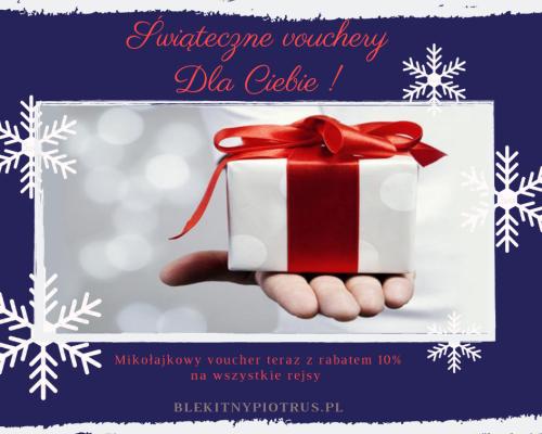 Świąteczne vouchery dla Ciebie !